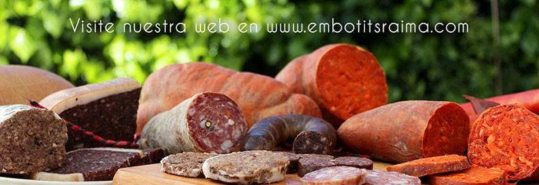 Web coorporativa de Embotits Raima SL
